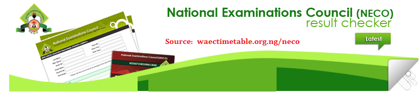 how to check neco gce result